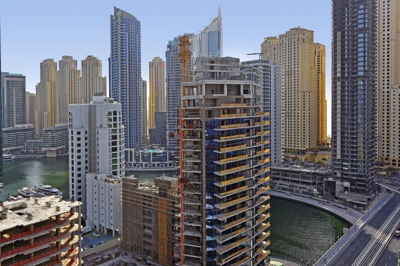Studio Apartment For Rent in  Marina View Tower A,  Dubai Marina | 3