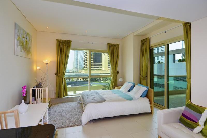 Studio Apartment For Rent in  The Royal Oceanic,  Dubai Marina | 1