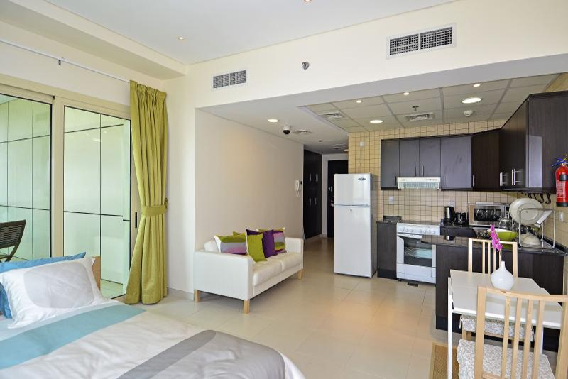 Studio Apartment For Rent in  The Royal Oceanic,  Dubai Marina | 2