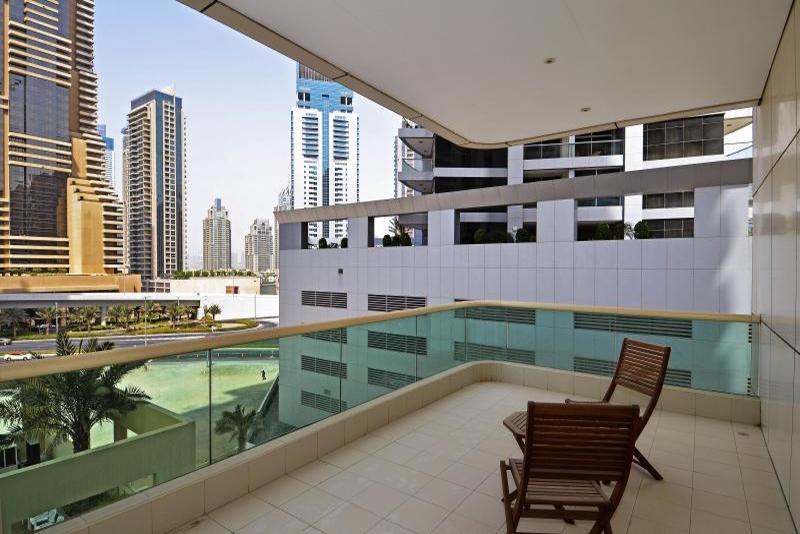 Studio Apartment For Rent in  The Royal Oceanic,  Dubai Marina | 0