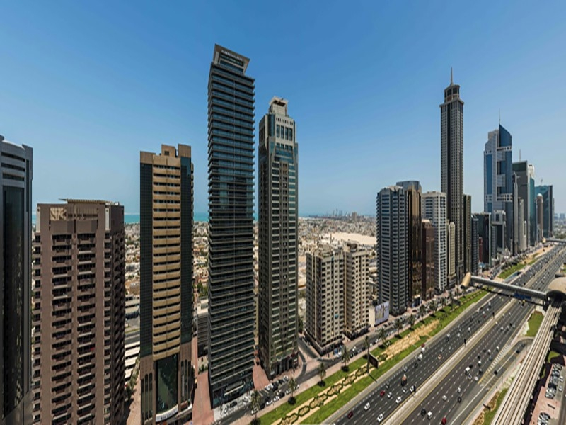 2 Bedroom Hotel Apartment For Rent in  Four Points Hotel by Sheraton,  Sheikh Zayed Road | 10