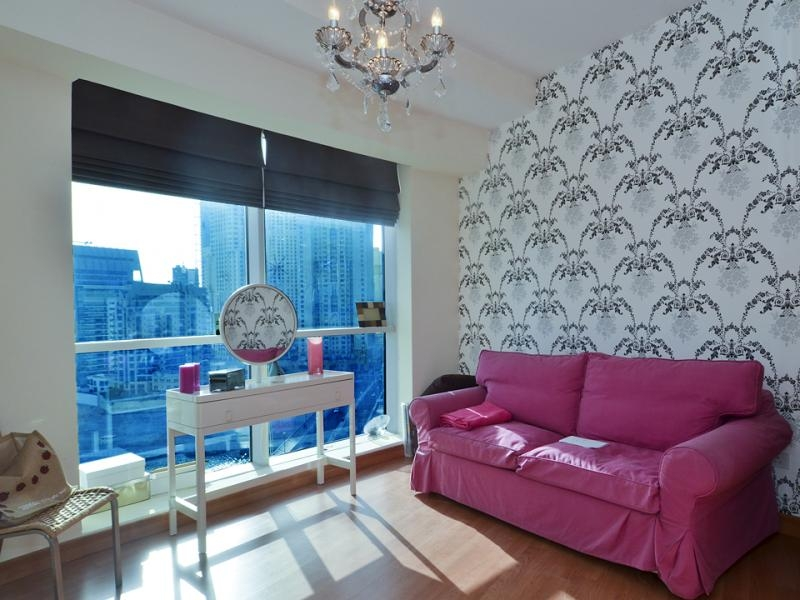 2 Bedroom Apartment For Rent in  The Waves Tower A,  Dubai Marina   4