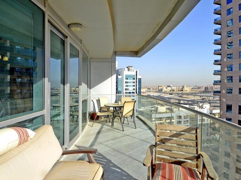 2 Bedroom Apartment For Rent in  The Waves Tower A,  Dubai Marina   5