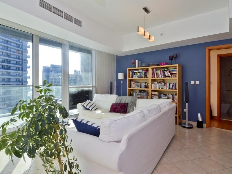 2 Bedroom Apartment For Rent in  The Waves Tower A,  Dubai Marina   7