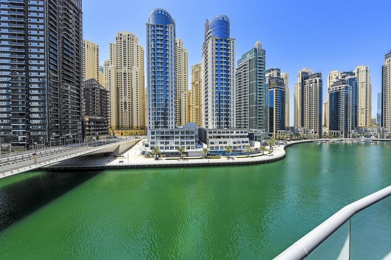 3 Bedroom Apartment For Rent in  The Waves Tower B,  Dubai Marina | 16