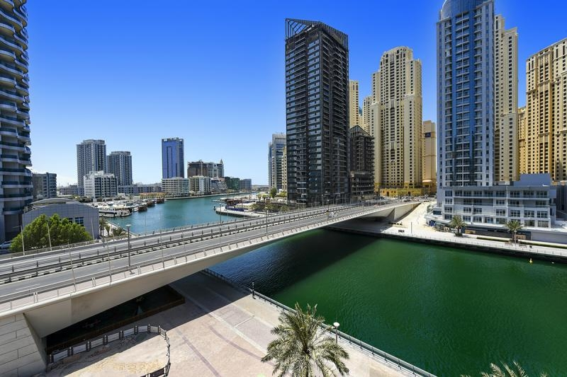 3 Bedroom Apartment For Rent in  The Waves Tower B,  Dubai Marina | 12