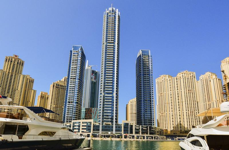 3 Bedroom Apartment For Rent in  The Waves Tower B,  Dubai Marina | 14