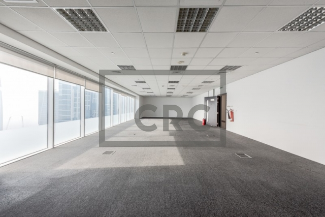 1,425 sq.ft. Office in Sheikh Zayed Road, Single Business Tower for AED 142,500