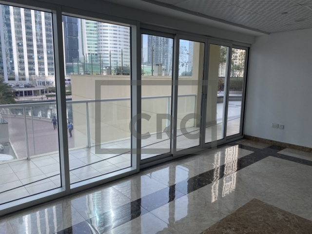 semi-furnished retail for rent in jumeirah lake towers, lake view tower | 7