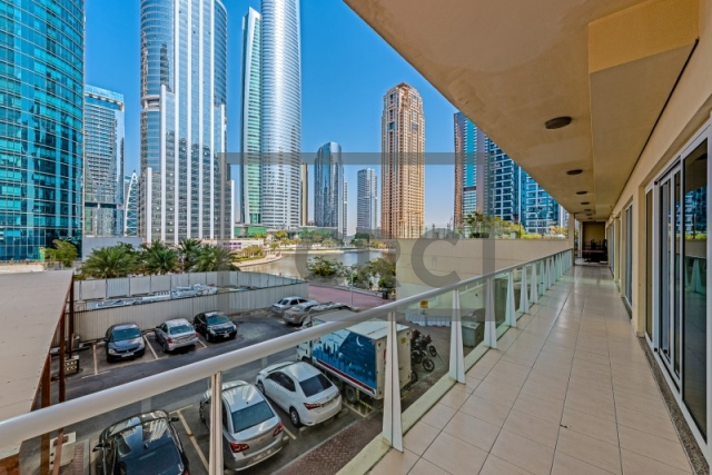 semi-furnished retail for rent in jumeirah lake towers, lake view tower | 4
