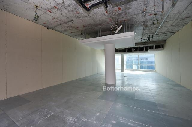 fitted and semi-furnished office for rent in business bay, blue bay tower | 1