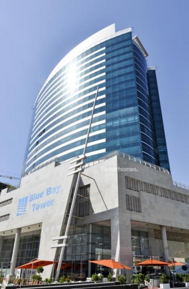 fitted and semi-furnished office for rent in business bay, blue bay tower | 16