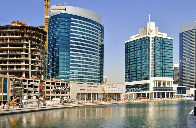 fitted and semi-furnished office for rent in business bay, blue bay tower | 23