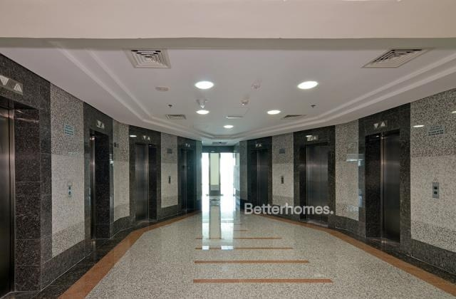 fitted and semi-furnished office for rent in business bay, blue bay tower | 24