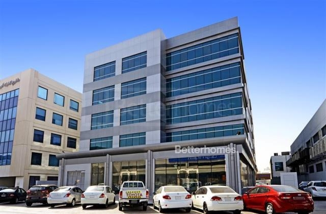 semi-furnished office for rent in al garhoud, al nisf building   19