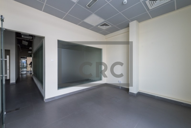 semi-furnished office for rent in al garhoud, al nisf building   1
