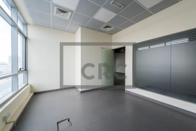 semi-furnished office for rent in al garhoud, al nisf building   2
