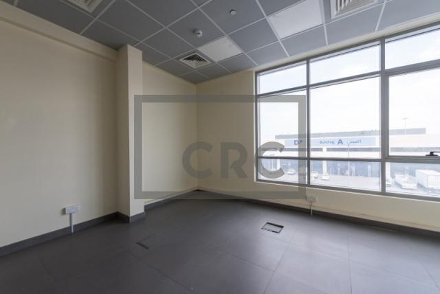 semi-furnished office for rent in al garhoud, al nisf building   3