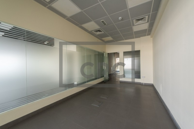 semi-furnished office for rent in al garhoud, al nisf building   12