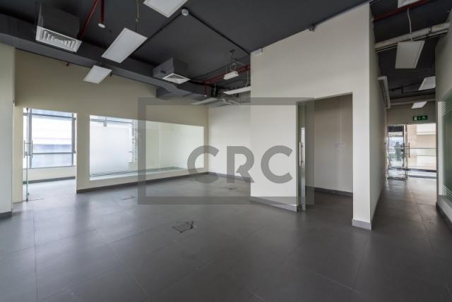 semi-furnished office for rent in al garhoud, al nisf building   8