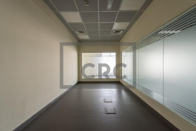 semi-furnished office for rent in al garhoud, al nisf building   16