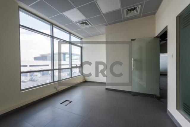 semi-furnished office for rent in al garhoud, al nisf building   17