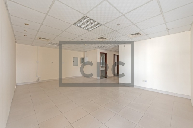 semi-furnished office for rent in deira, business point | 0