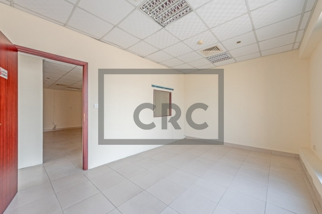 semi-furnished office for rent in deira, business point | 3