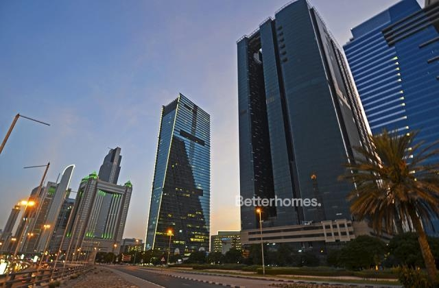 semi-furnished and shell & core office for rent in sheikh zayed road, burj al salam   20