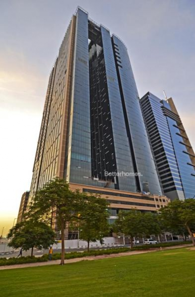 semi-furnished and shell & core office for rent in sheikh zayed road, burj al salam   19