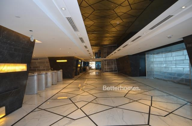 semi-furnished and shell & core office for rent in sheikh zayed road, burj al salam | 1