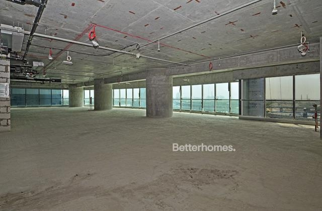 semi-furnished and shell & core office for rent in sheikh zayed road, burj al salam | 0