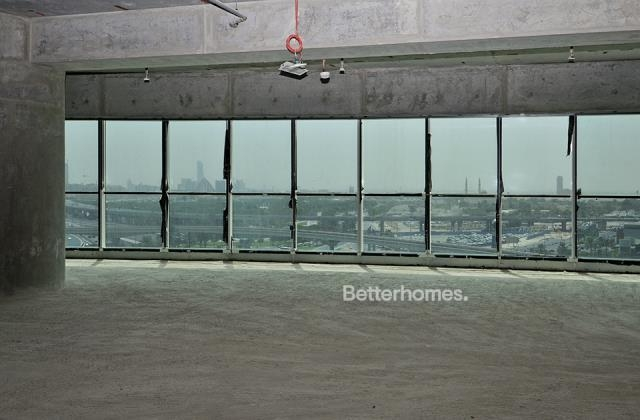 semi-furnished and shell & core office for rent in sheikh zayed road, burj al salam | 6