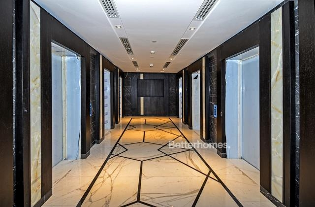 semi-furnished and shell & core office for rent in sheikh zayed road, burj al salam | 10