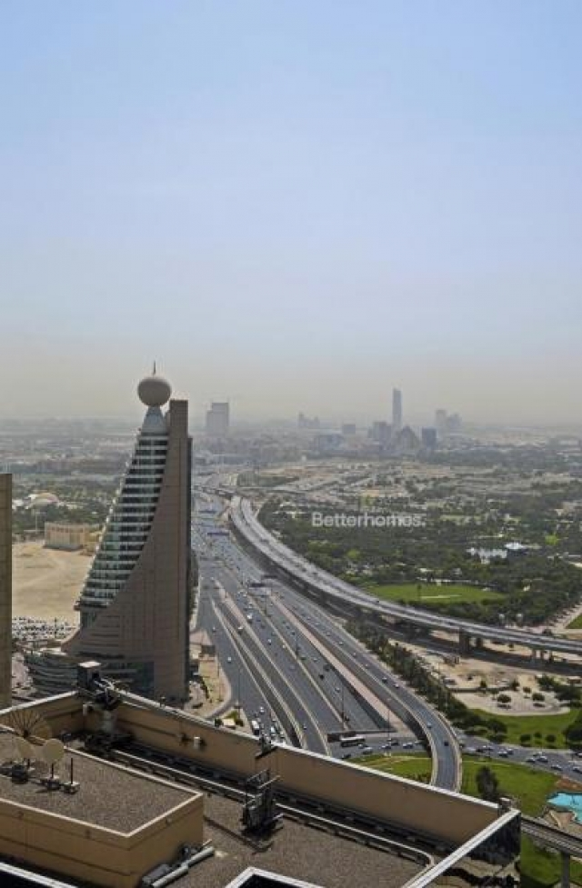 semi-furnished and shell & core office for rent in sheikh zayed road, burj al salam | 14