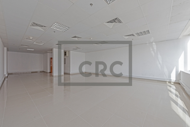 semi-furnished office for rent in business bay, capital golden tower | 1