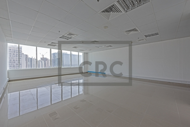 semi-furnished office for rent in business bay, capital golden tower | 2