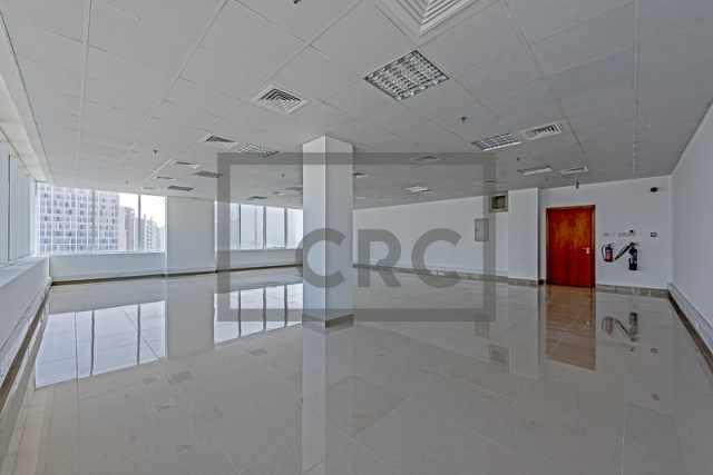 semi-furnished office for rent in business bay, capital golden tower | 6