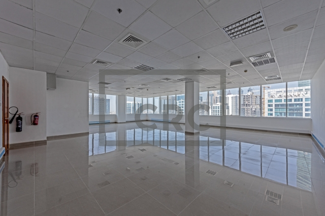 semi-furnished office for rent in business bay, capital golden tower | 9