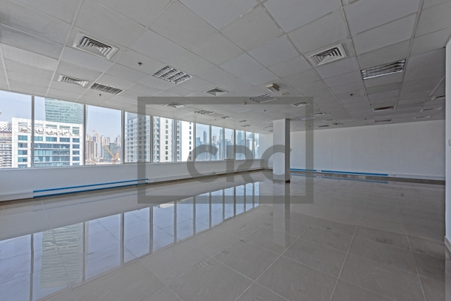 semi-furnished office for rent in business bay, capital golden tower | 10