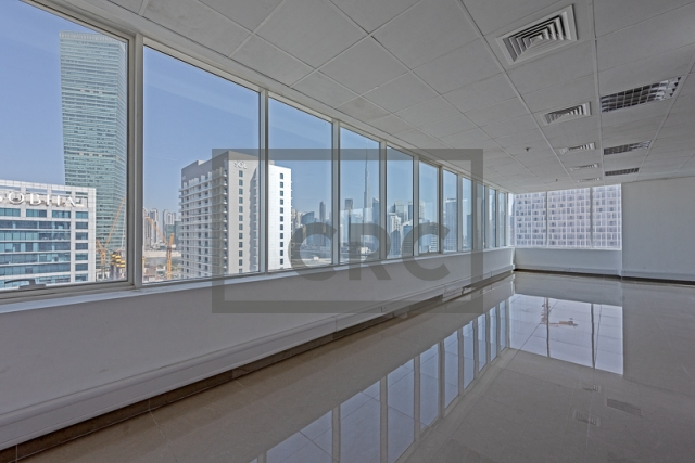 semi-furnished office for rent in business bay, capital golden tower | 11