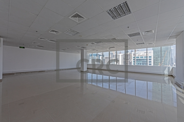 semi-furnished office for rent in business bay, capital golden tower | 12