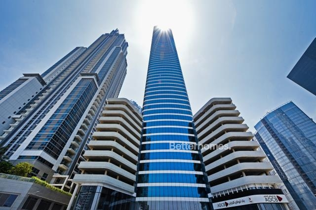 shell & core office for rent in business bay, bay gate   4