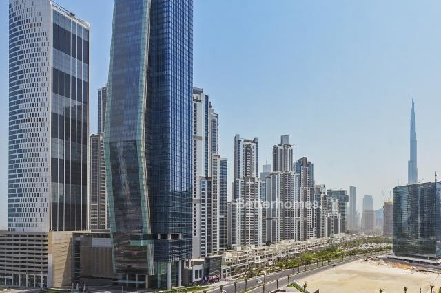 shell & core office for rent in business bay, bay gate   9