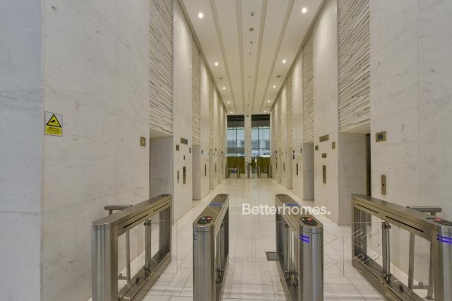 shell & core office for rent in business bay, bay gate   3