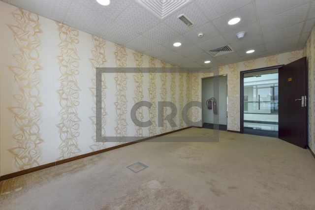 furnished business center for rent in al garhoud, airport road area | 2
