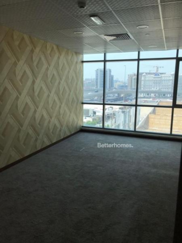 furnished business center for rent in al garhoud, airport road area   2