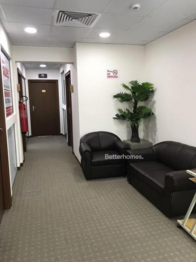 furnished business center for rent in al garhoud, airport road area   3