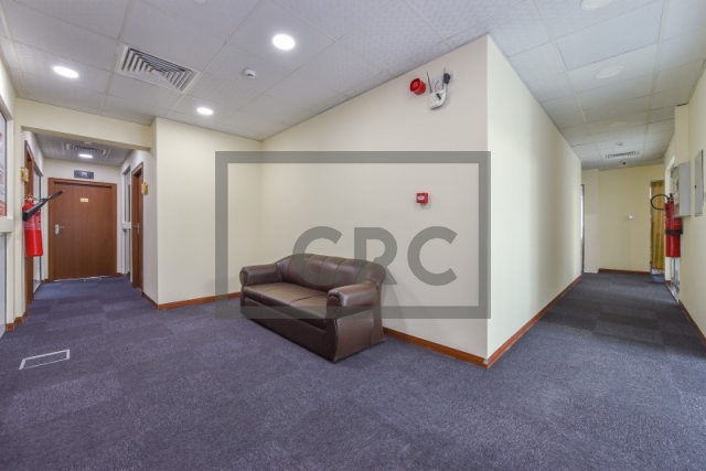 furnished business center for rent in al garhoud, airport road area   1