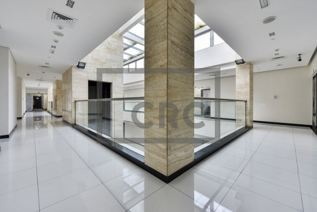 furnished business center for rent in deira, airport road building | 5
